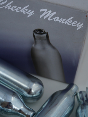 cheeky monkey cream chargers 16gm