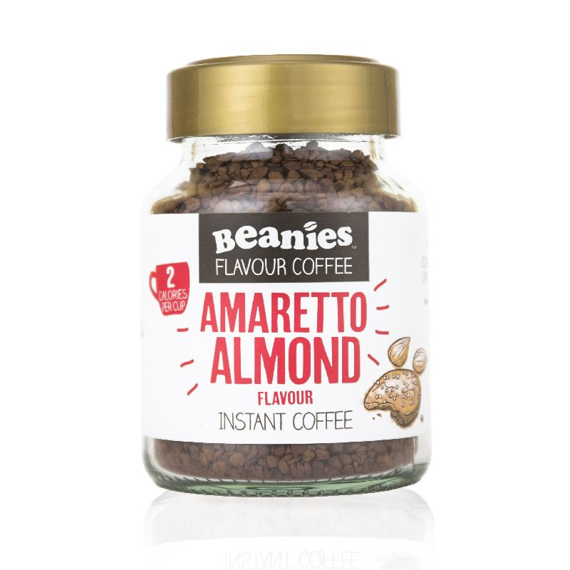Beanies Amaretto Almond Flavour Instant Coffee 50g