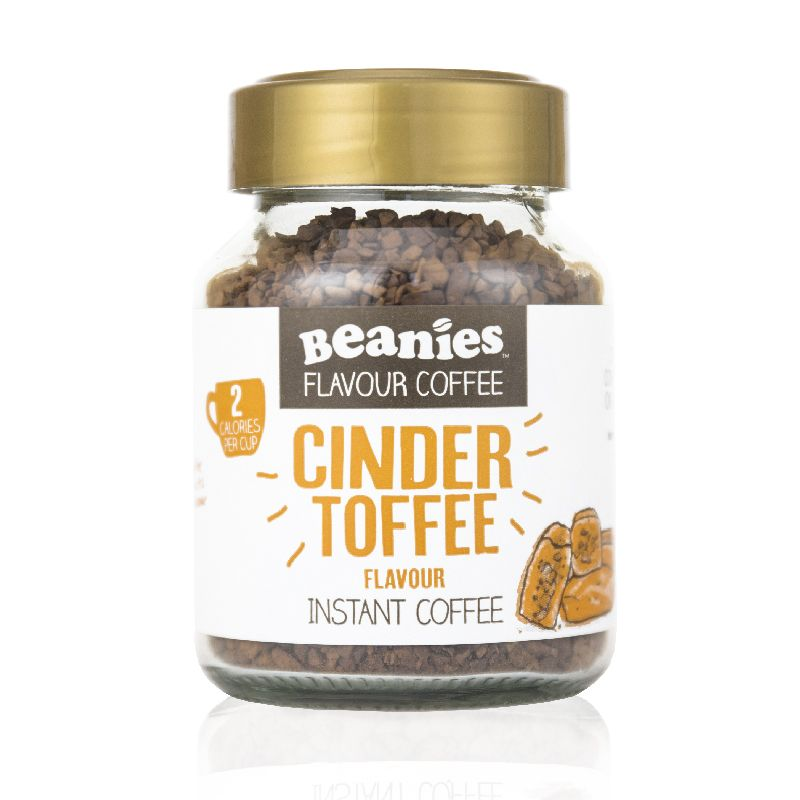 Beanies Cinder Toffee Flavour Instant Coffee 50g