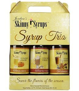 Jordan's Skinny Syrups Holiday Trio Pack