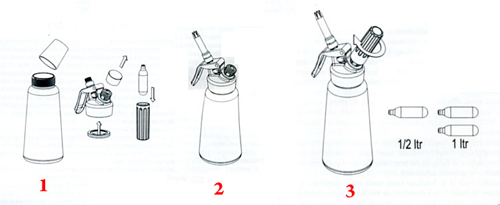 Cream Whipper Whipped Cream Dispenser